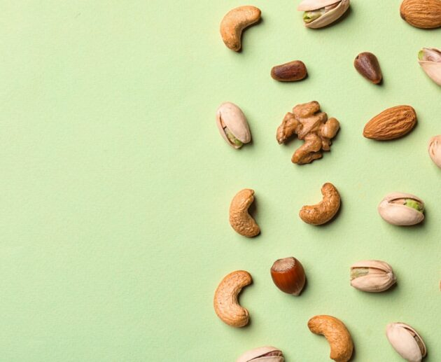 Nuts in a healthy diet