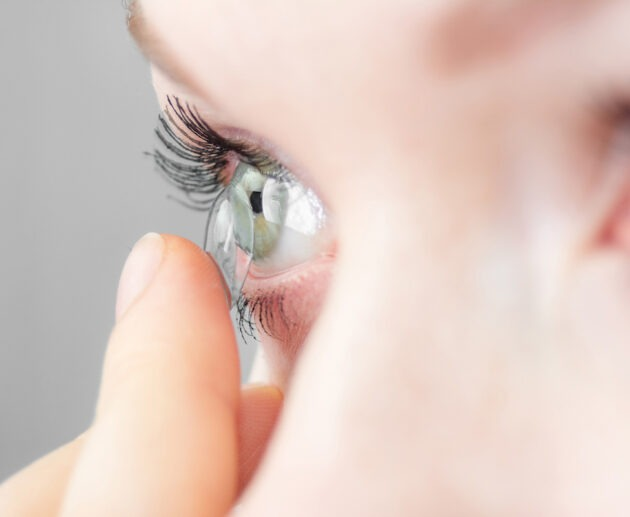 contact lens hygiene