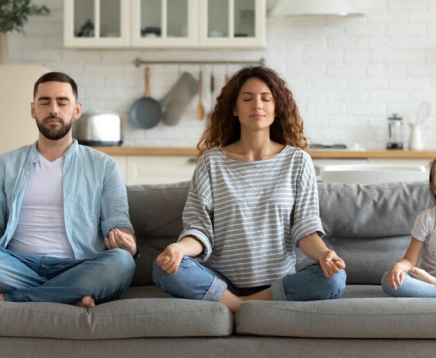 gratitude meditation with family