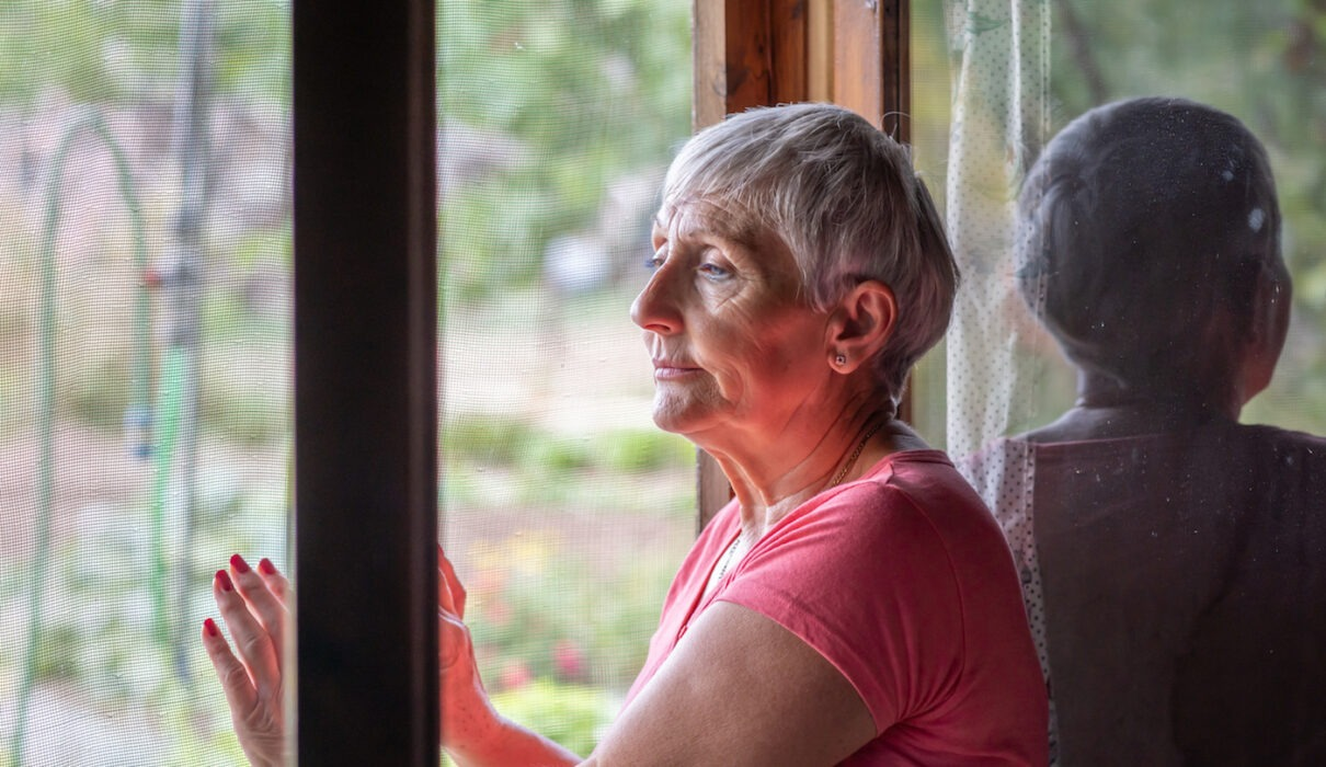 older person lonely during COVID-19 restrictions