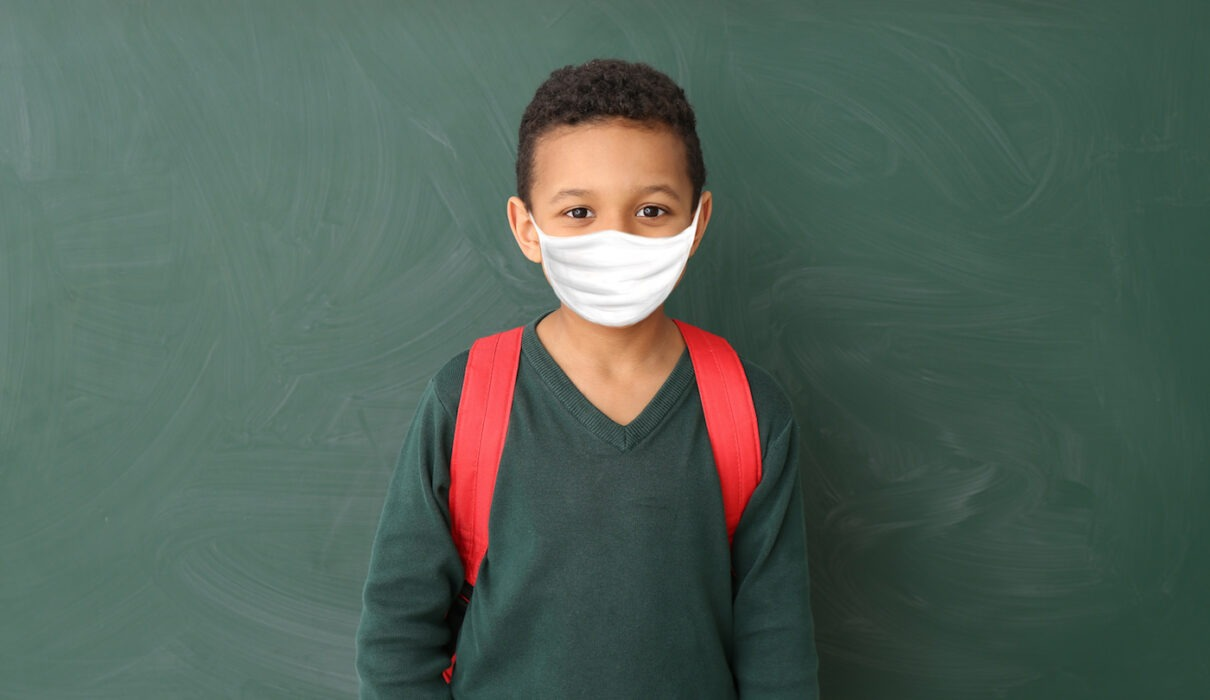 kids and face masks in covid-19