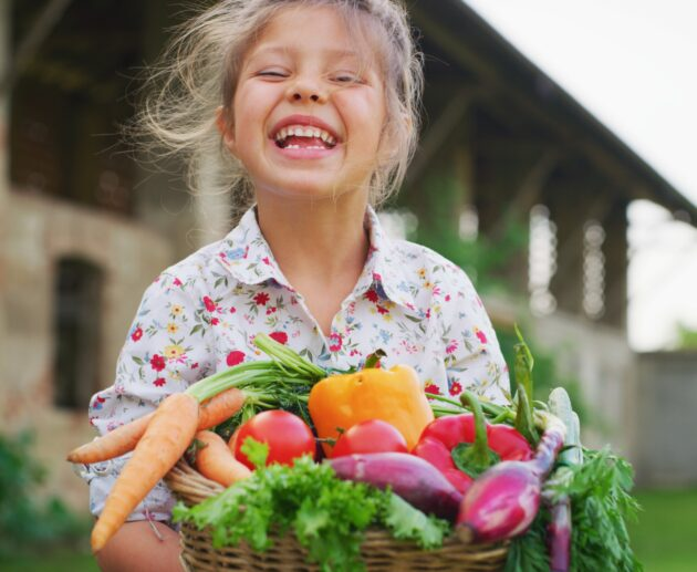 How to get kids to eat vegetables?