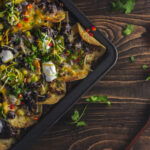 nachos and black beans