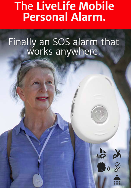 LiveLife Mobile Personal Alarm.